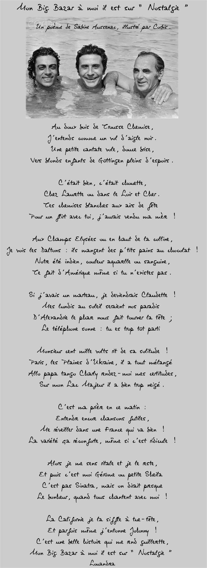 poesie la seine a rencontre paris
